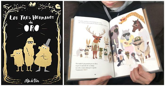 mejores cuentos libros infantiles de 5 a 8 años los tres hermanos de oro olga dios