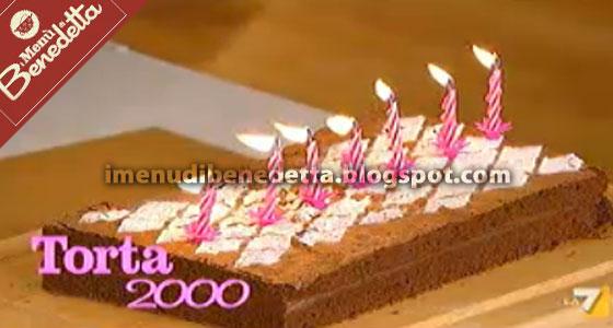 Torta 2000 La Ricetta Di Benedetta Parodi