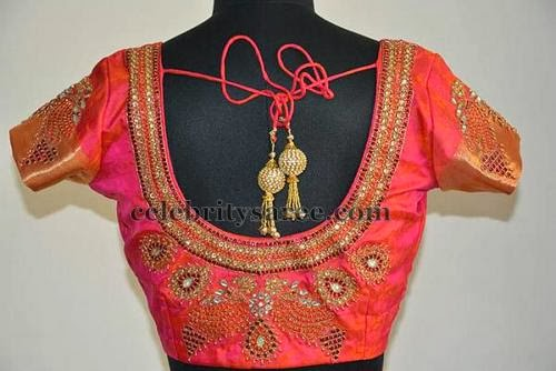 07ca01c6ed7fda Simple Patch Work Blouse Designs - Saree Blouse Patterns