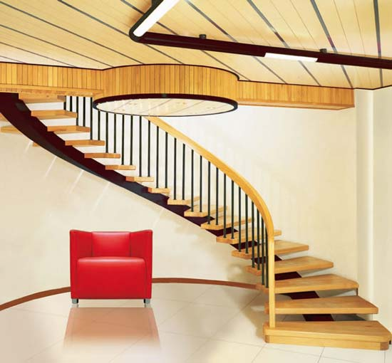 Staircase Ideas: Interior Home Decoration: Indoor Stairs Design Pictures