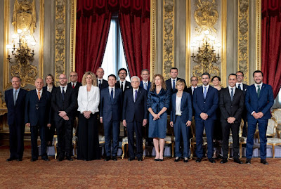 Il Governo GialloVerde ha Giurato Fedeltà alla Repubblica Italiana