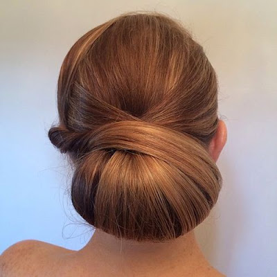 Model Rambut Sanggul atau Chignon