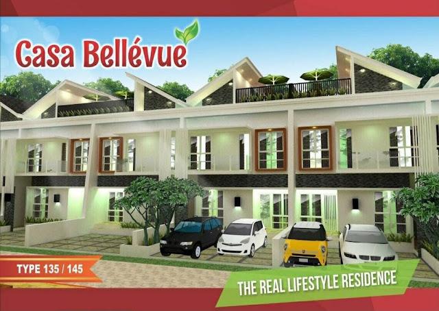 Perumahan Casa Bellevue Residence: Dijual Rumah Cluster Exclusive Baru di Bintaro Jakarta, Strategis Selatan Jakarta, Dekat Tol Bintaro dan JORR