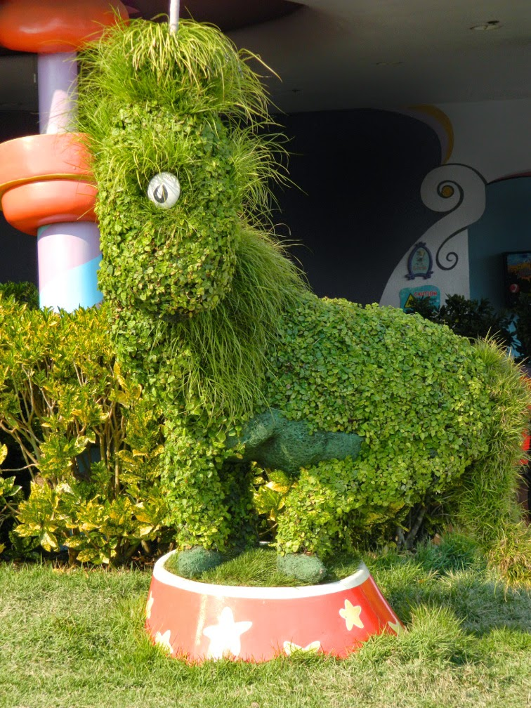 Topiary Seuss Landing Universal Studios Orlando by garden muses-not another Toronto garden blog