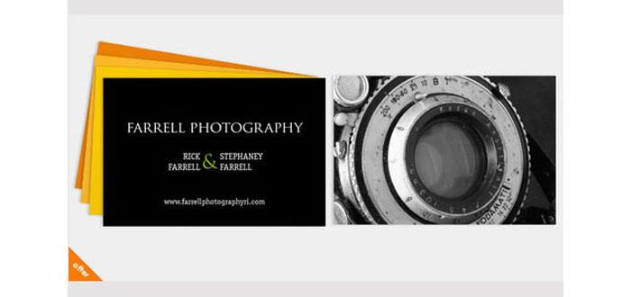 cartao de visita criativo fotografos 3 - Fotógrafos 10 cartões de visita irresistíveis