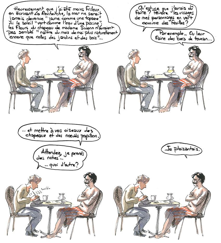 Animisme et Métonymie chez Proust, de Genette