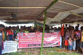 KNPB Bersama Rakyat Papua Merayakan Kemenangannya atas Petisi West Papua Tibah di C24 PBB