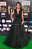 Esha Gupta in a Deep Neck Sleeveless Dark Green Gown at IIFA Utsavam Awards 2017     42.JPG