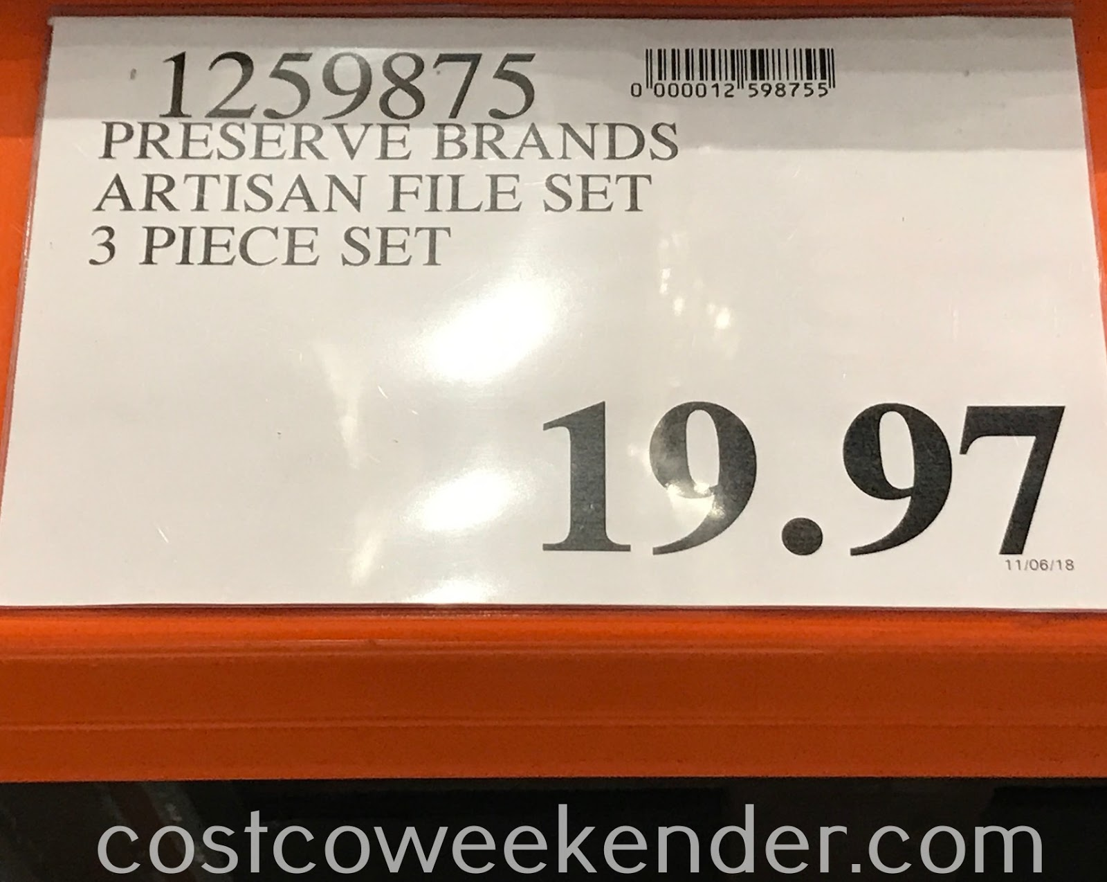 Deal for the Preserve Brands 3 Piece Artisan Desk Organization Set at Costco