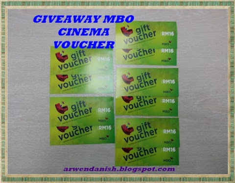 GIVEAWAY MBO CINEMA VOUCHER