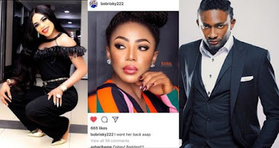 #BBNaija: Bobrisky and Uti Nwachukwu root for Ifu Ennada to get back into the house