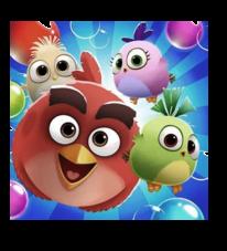 لعبة Angry Birds POP Bubble Shooter مهكرة