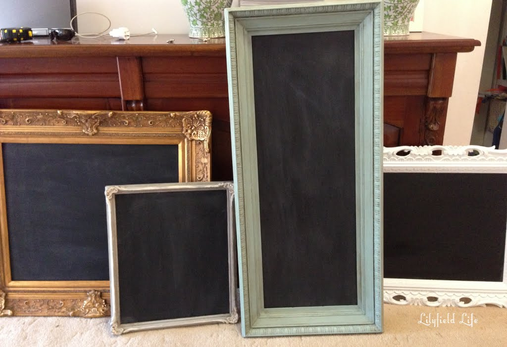 10 ideas for using chalkboard paint DIY at home by Lilyfield Life