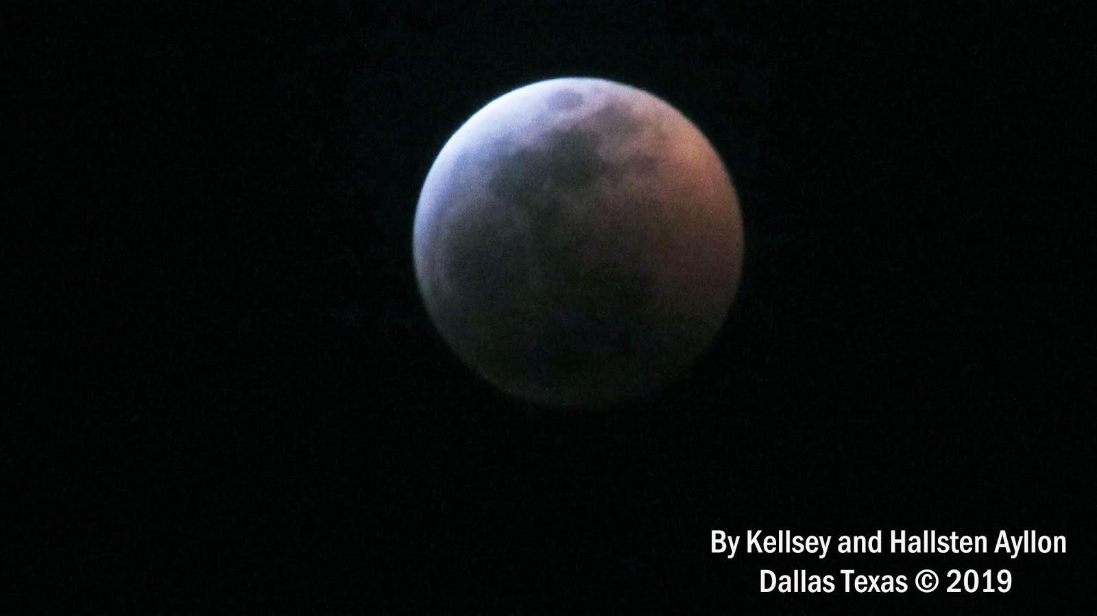 blood moon january 2019 dallas tx - photo #14