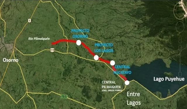 Mapa General Statkraft Los Lagos