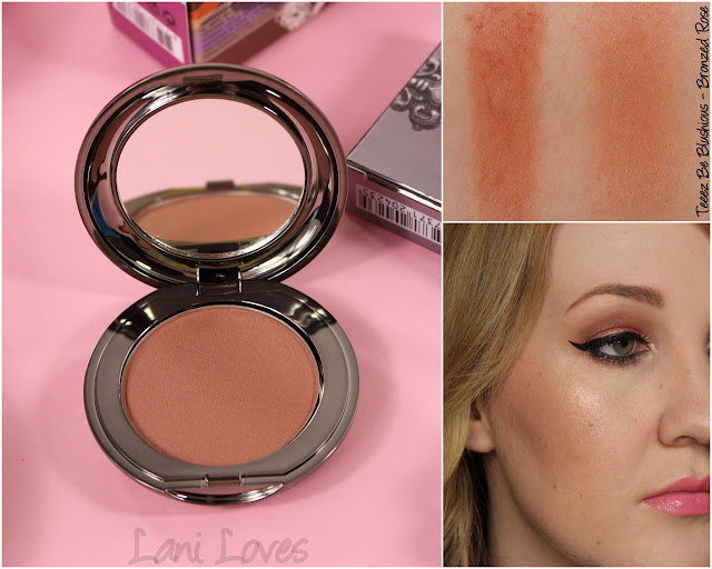 Teeez Be Blushious - Bronzed Rose swatches & review