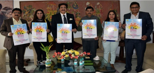 Poster Release of 4th Global Festival of Journalism 2016 in Noida