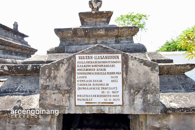 makam sultan hasanuddin gowa
