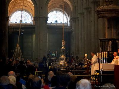 Botafumeiro - Catedral de Santiago de Compostela