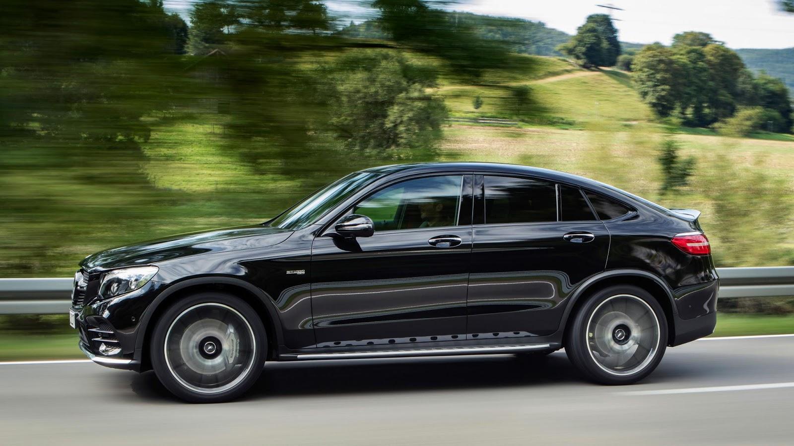 Mercedes-AMG GLC43 Coupe có vẻ ngoài trông rất năng động, cá tính