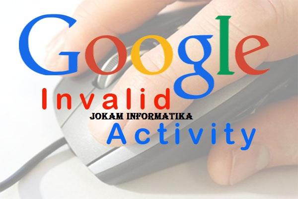 Cara Check Invalid Activity Pada Akun Google Adsense - JOKAM INFORMATIKA