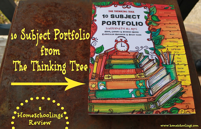 10 Subject Portfolio by The Thinking Tree - Review