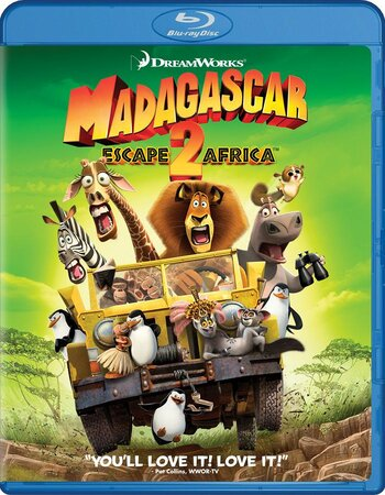 Madagascar Escape 2 Africa (2008) Dual Audio Hindi 480p BluRay x264 300MB Movie Download