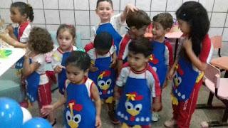 """Aniversário da nossa pequena Eduarda Vitória do maternal """"B""""..."""