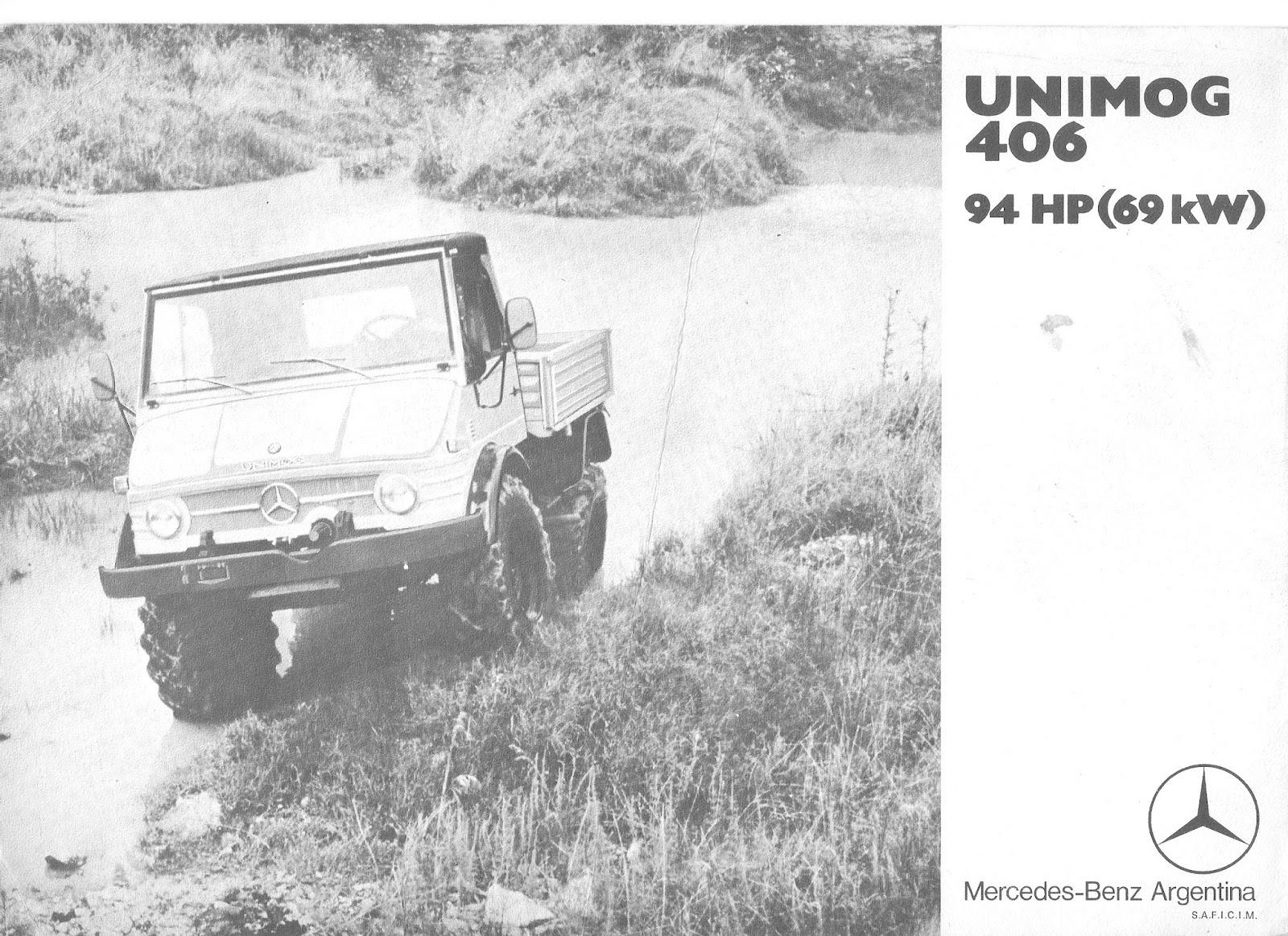 Camión Argentino: Mercedes Benz Unimog U406.