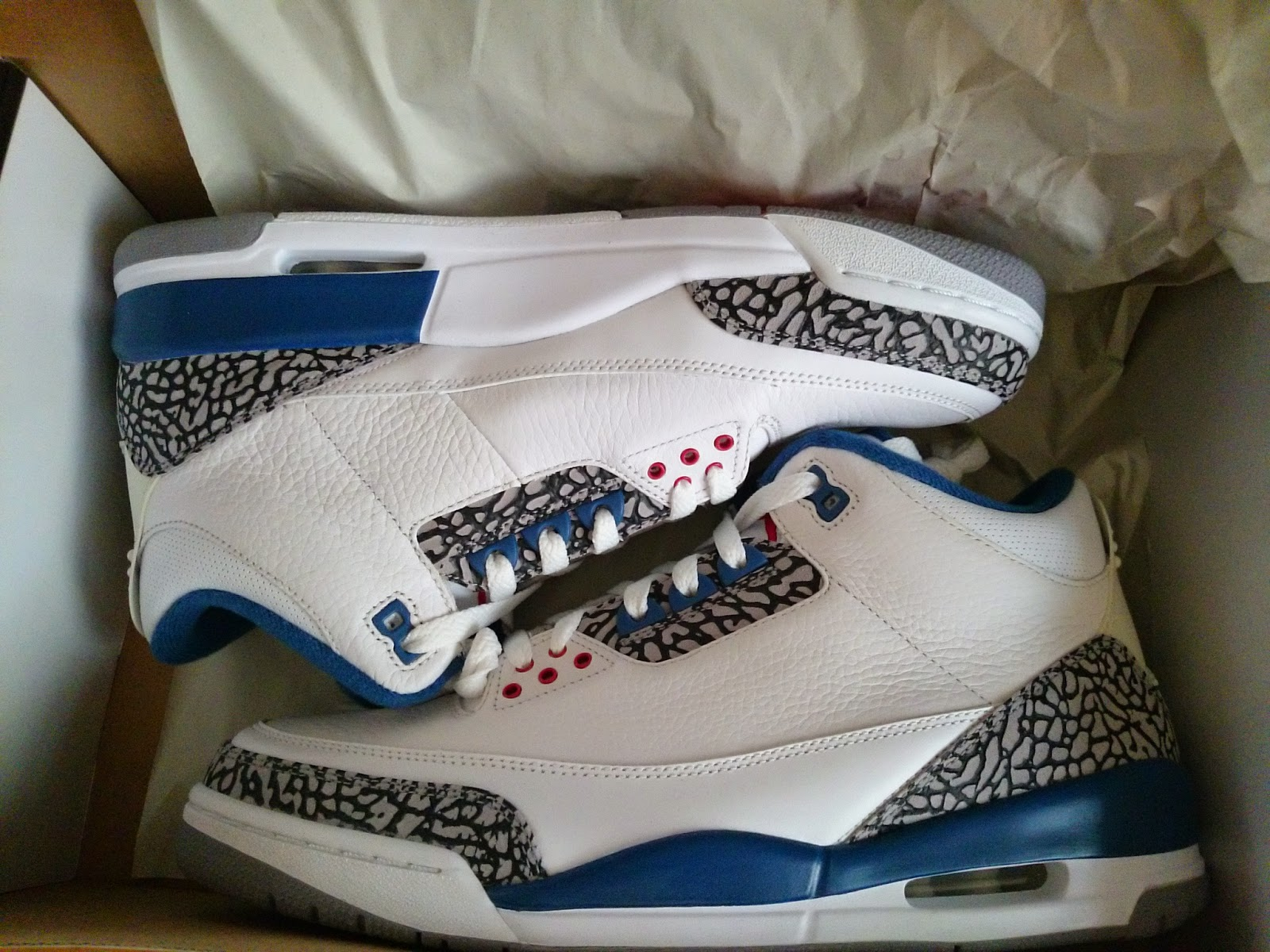 6b17c997702acf JOSH S KICKS FOR SALE  Nike Air Jordan III 3 True Blue 2009 retro ...