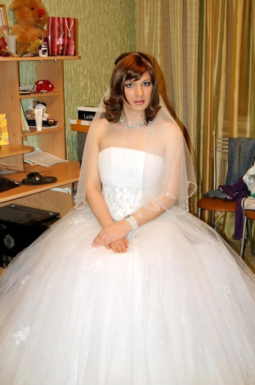 male crossdress bride