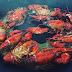 Cangrejos de Rio a la Plancha