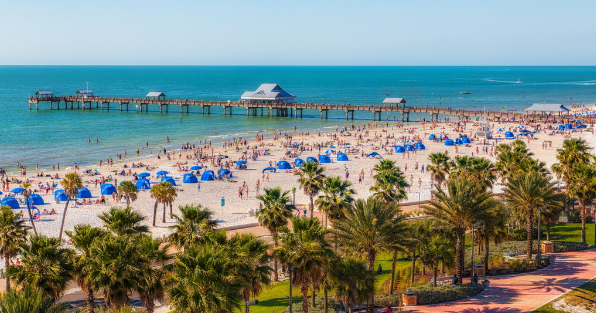 Clearwater's attractions is not only the local population but also of international tourists