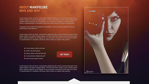 Photoshop Tutorial Web Design Creative Maqnificure Part 2