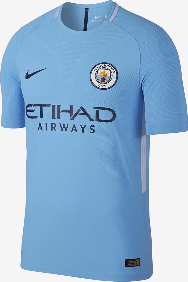 13c66dbab4 Nike lança a nova camisa titular do Manchester City