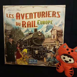 Les Aventuriers du Rail Europe recto