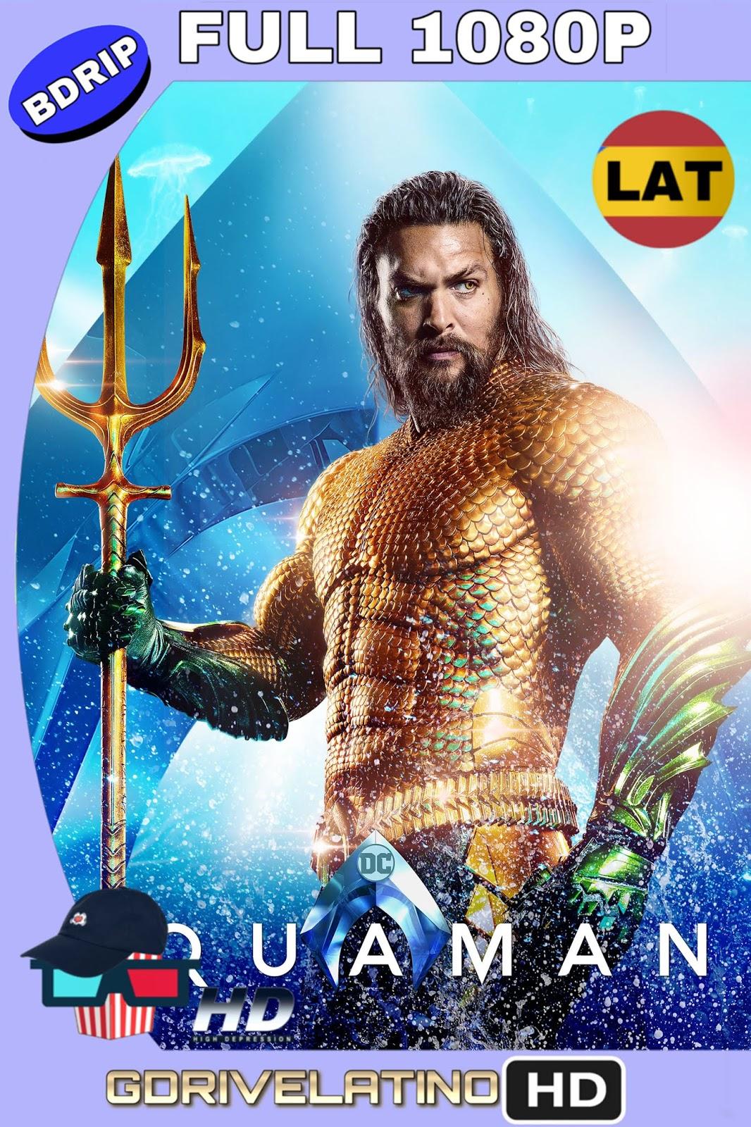 Aquaman (2018) BDRip FULL 1080p (IMAX) (Latino–Inglés) MKV