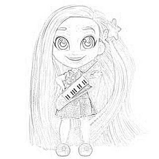 Coloring Pages: Hairdorables Coloring Pages Free and ...