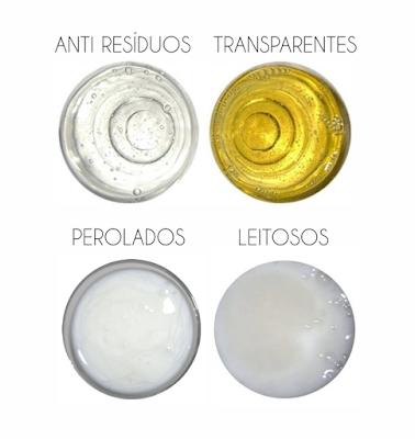 Tipos de Shampoo