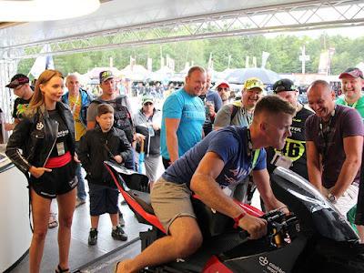 MotoGP - Cashback World Lyoness trenažér