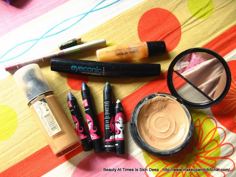 Makeup declutter of November 2014