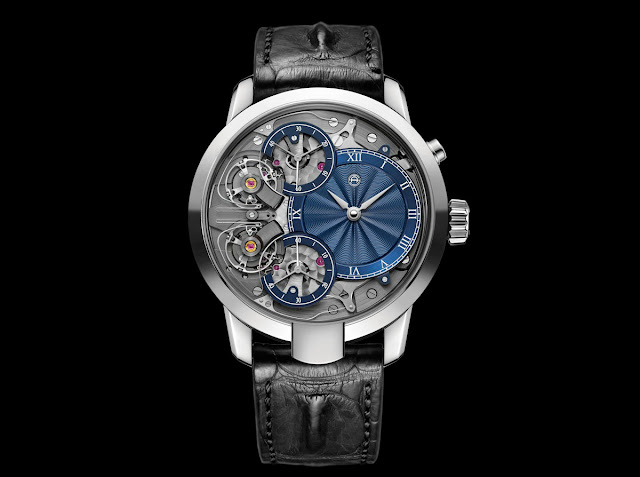 Armin Strom Mirrored Force Resonance with Guilloche Dial