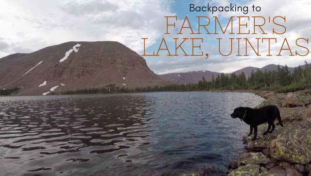 Backpacking to Farmer's Lake, Uintas