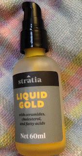 My bottle of Stratia Liquid Gold