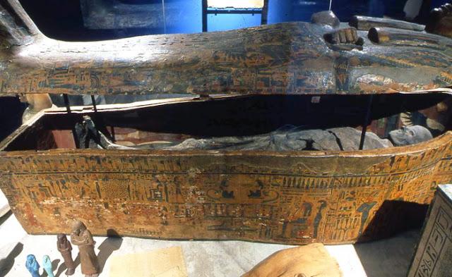 Artefato do Museu de Arqueologia do Mediterrâneo