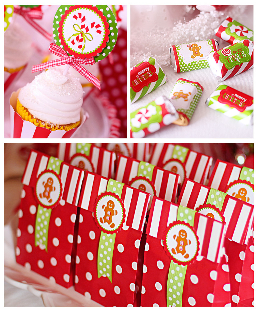 Christmas Decorations For A Party: Kara's Party Ideas Candy Land Christmas Party