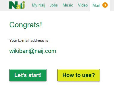 nigerian no 1 truly e-mail service