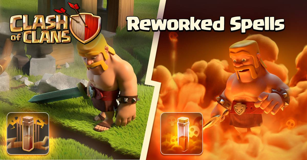 Clash Of Clans Spell Earthquake