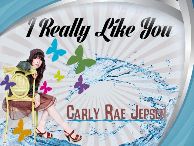 Carly Rae Jepsen I Really Like You Album Cover Fanart