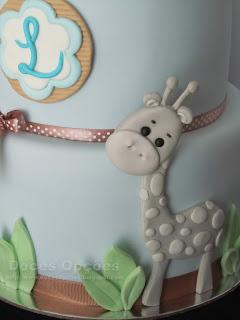 girafa pasta açucar